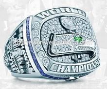 Latest designed Custom cheap 2013 Seahawks NFL Champions Ring fashion jewelry