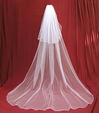 Hot Sale Off white Wedding Veils Long Wedding veil 2014