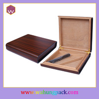 fashion wooden box for cigar wholesale(WH-3000-2)
