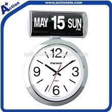 Auto wall flip clock