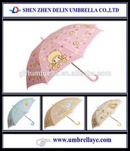 Lovely pretty little pink kid umbrella