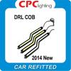2pcs cob drl car led Daytime Running Light day time running lamp fog driving daylight auto day lights