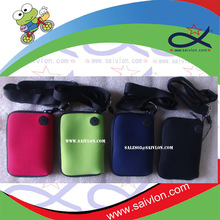 2014 Promotion cell phone pouch with lanyard