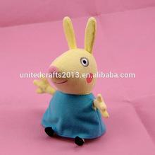 peppa pig friends plush toys-Rebecca Rabbit