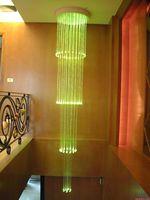 Plastic fiber optic for lighting remote controller 16w led fiber optic engine