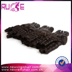 Newly arrived 6a cheap romance curl very long hair extensions 34 inch hair extensions