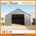 Ssm150906 hot vente préfabriquée acier entrepôt