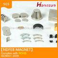 永久ネオジウム磁石n35-n52グレードの様々な設計で