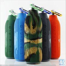 Bottle shape with keychain stereo mini bluetooth speaker P-SPEAKERBT113