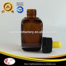 30ml essential oil glass bottles amber glass dropper bottle square black child resistant cap color ful rubber