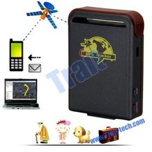 Wholesale waterproof TK102 5M Accuracy Mini Global GSM/GPRS Anti-theft GPS Tracker for pet elder people car