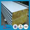 Strong heat insulation high quality cheap rock wool sandwich panel