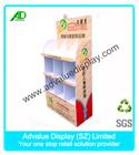 Corrugated Cardboard Free Standing POS Merchandising display