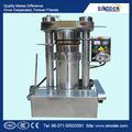 Fuente de alimentación extractor de aceite de la máquina para prensa de aceite de fría y caliente de coco / soja / Oilve al óleo / girasol / semillas