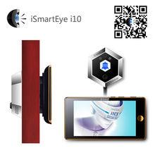 smart burglar alarm door viewer with knocker door lock with remote control
