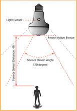 auto led lighting with led bulb motion sensor