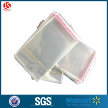 moisture barrier clear poly bags self adhesive with tape seal