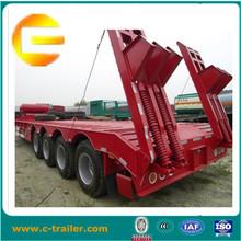 3-axle equipment transport vehicle