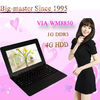 mini laptop computers best buy 10 inch VIA8850 Android 4.1 rotating touch screen laptops