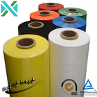 Bottom lidding film and tubing for hand stretch wrapping film