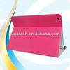 Luxury wallet stand cell phone leather flip cover for ipad 5