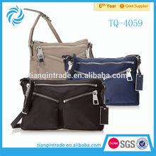 2014 Promotional Sling Bag Nylon Cross Body Bag For Women