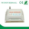 20A pwm solar de la carga del mando a distancia de cortadora de venta con CE y RoHS