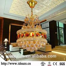 C98117 modern crystal flower ceiling light ,white swan chandelier ,modern crystal flower ceiling light