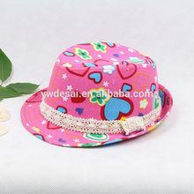 YiWu De Sai cap and hat baby hat panama hat accessory fedora hat custom printed bucket hats