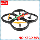 X30 2.4G 4ch 4 AXIS foam RC Quadcopter UFO With Camera RTF