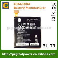 New Genuine Battery For LG BL-T3 LG F100L F100S Optimus Vu F100 F100S/L