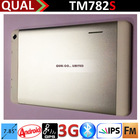 """HOT!!! 7.85"""" pc tablets with mt8382 qual core IPS WCDMA 3G phone call Bluetooth GPS FM Full Function tablet TM782S"""