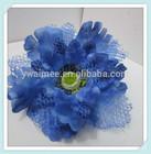 Yiwu Aimee supply handmade decorative ribbon fabric organza flowers evening dress ( AM-F-074)