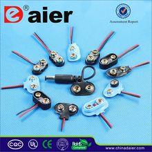 Daier 9v battery cooper holder/ clip