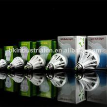 Russia market sound sensor time delay led bulb light suppliers