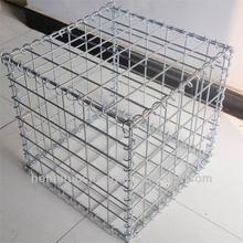 Good quality galvanized gabion box stone cage,gabion stone cage box