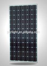 300W sunpower Black Mono Cystalline Silicon Solar Panel in China