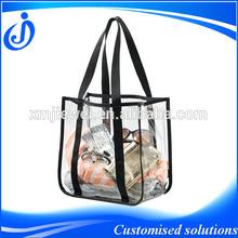 Transparent Clear PVC Tote Beach Bags