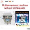 yüksek basınçlı otoklav Oca yapışkanlı etiket lcd kabarcık makinesi kaldır ücretsiz hava kompresörü