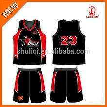 Top reversible basketball jerseys cheap two layer basketball uniform blank mesh basketball jerseys