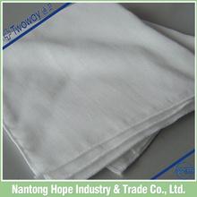 100% organic cotton single layer double gauze lattice handkerchief