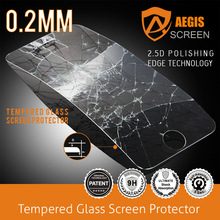 great selling 9H 2.5D tempered glass lcd screen film for Sony