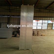 2014 Hot Sales 10' X19'' Aluminum Construction Planks For Scaffolding