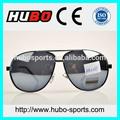 Pc objektiv anti- UV billig heißer verkauf rahmen sonnenbrillen spiegel fliegerbrille