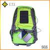 green hot sell Solar Bag Pack leisure backpack