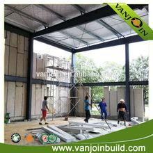 fast construction foam concrete wall panels / 100mm foam concrete exterior wall panels
