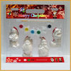 lovely x'mas decoration diy ceramic paint set painting toys