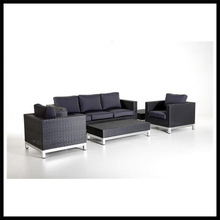 2014 new design fashion synthetic rattan sofa sets rattan garden furniture