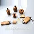 2014 venta al por mayor de madera a granel de promoción usb flash drive/usb flash disk/usb de memoria flash