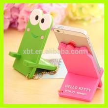 Soft PVC Cartoon Phone Holder